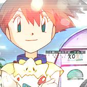 Misty Kasumi Pokemon Icon by hitsuhinabby