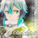 Sinon Sword Art Online II Icon by hitsuhinabby