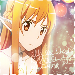 Asuna Icon // Sword Art Online by hitsuhinabby