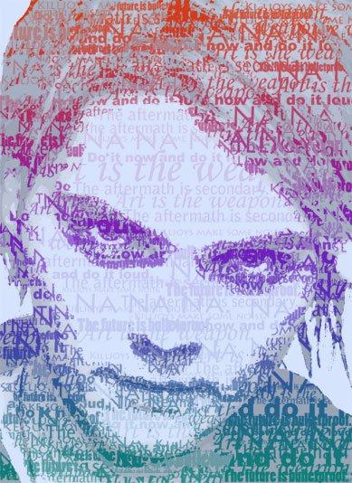 Gerard Way Typography by Madisya