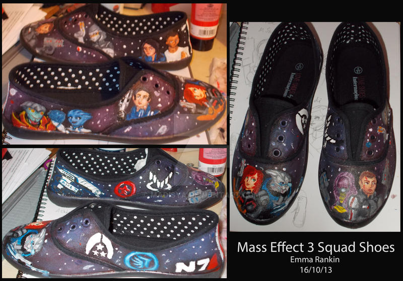 Mass Effect 3 Squad Shoes Complete by Madisya
