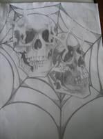skulls by demon43