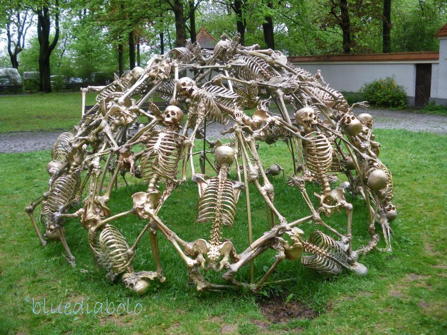 Art with deads 2 by bluediabolo