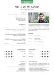 Resume Indesign Template by 1PSD