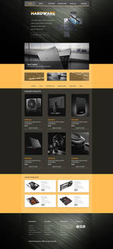 Hardware web template