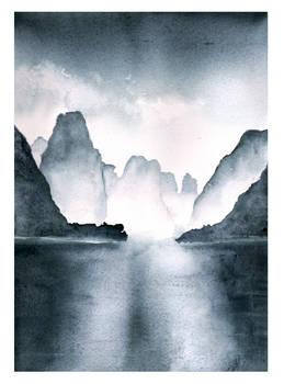 Li River Watercolor