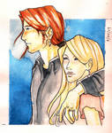 Bill and Fleur: Watercolor
