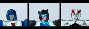 Autobot Head Shots
