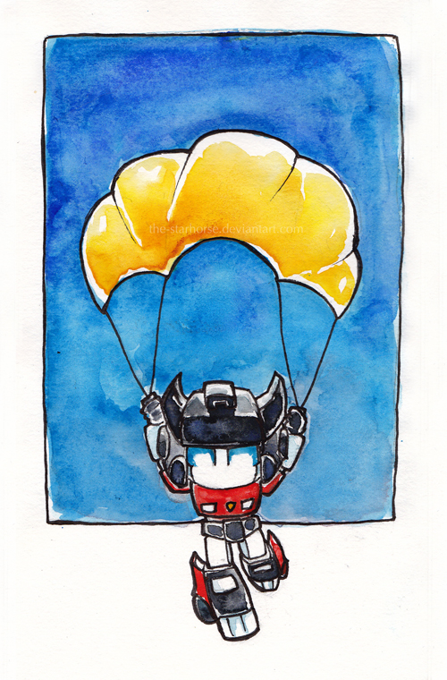Sideswipe's Parachute by The-Starhorse