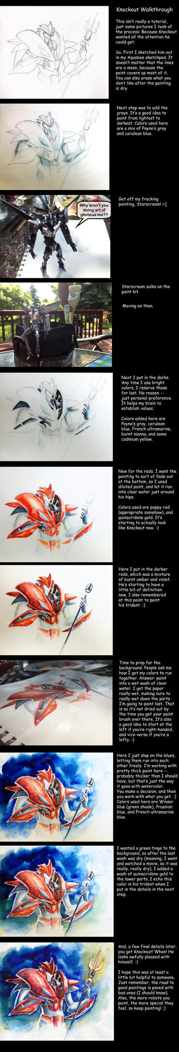 TFP Knockout Painting Walkthrough by The-Starhorse