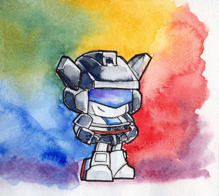 Rainbow Jazz Chibi by The-Starhorse