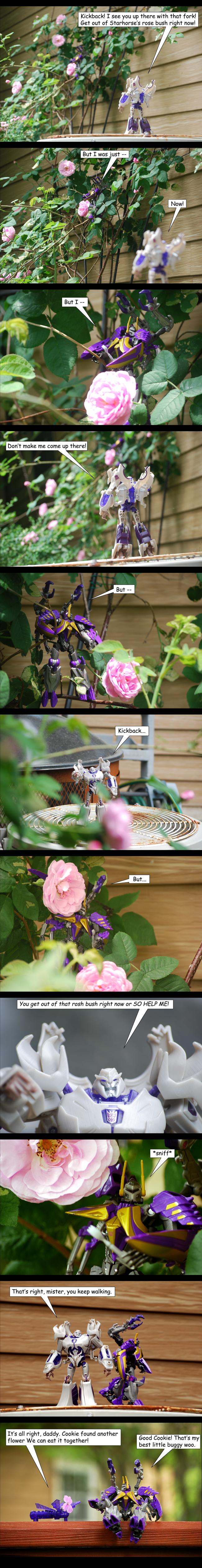 Garden Pest by The-Starhorse