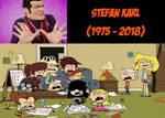 Loud Kids crying on Stefan Karl's death