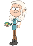 Princess Bean in The Loud House style