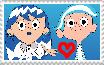 Nelvana x WildBrain stamp by MarJulSanSil