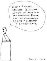Sermon Cartoon by Someonelikemyself