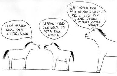 Horse Cartoon by Someonelikemyself