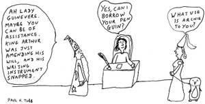 Gag Cartoon 4