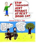 Stop Throwing Mint Humbugs at Next Doors Cat Cover