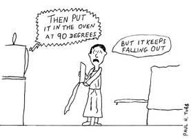 Gag Cartoon again by Someonelikemyself