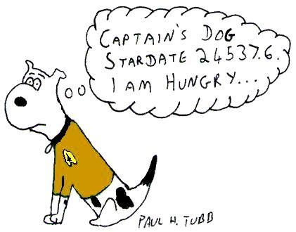 Captain's Dog...  (Star Trek) by Someonelikemyself