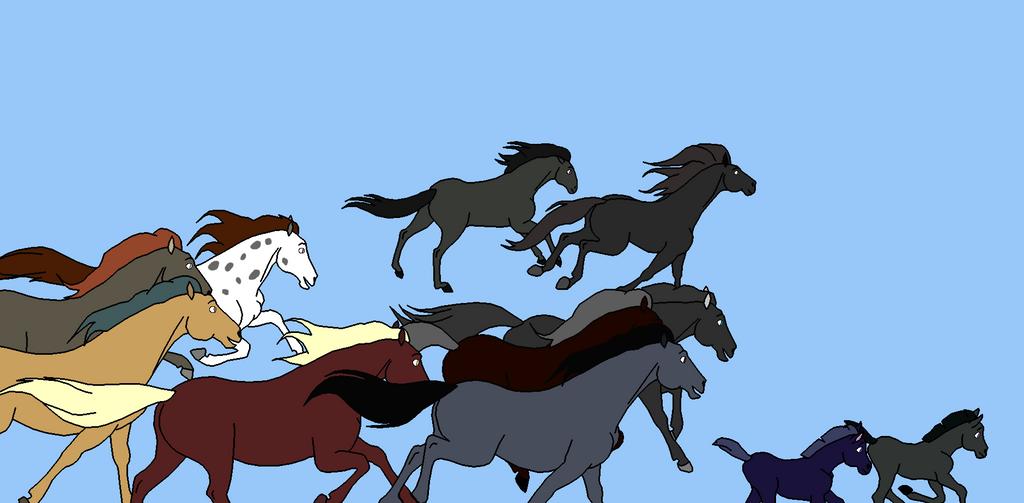 The Forest Herd by Queenofnightwish
