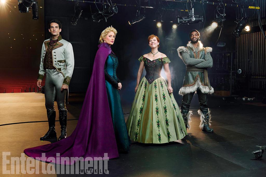 First look at new Frozen Broadway Musical by Queenofnightwish