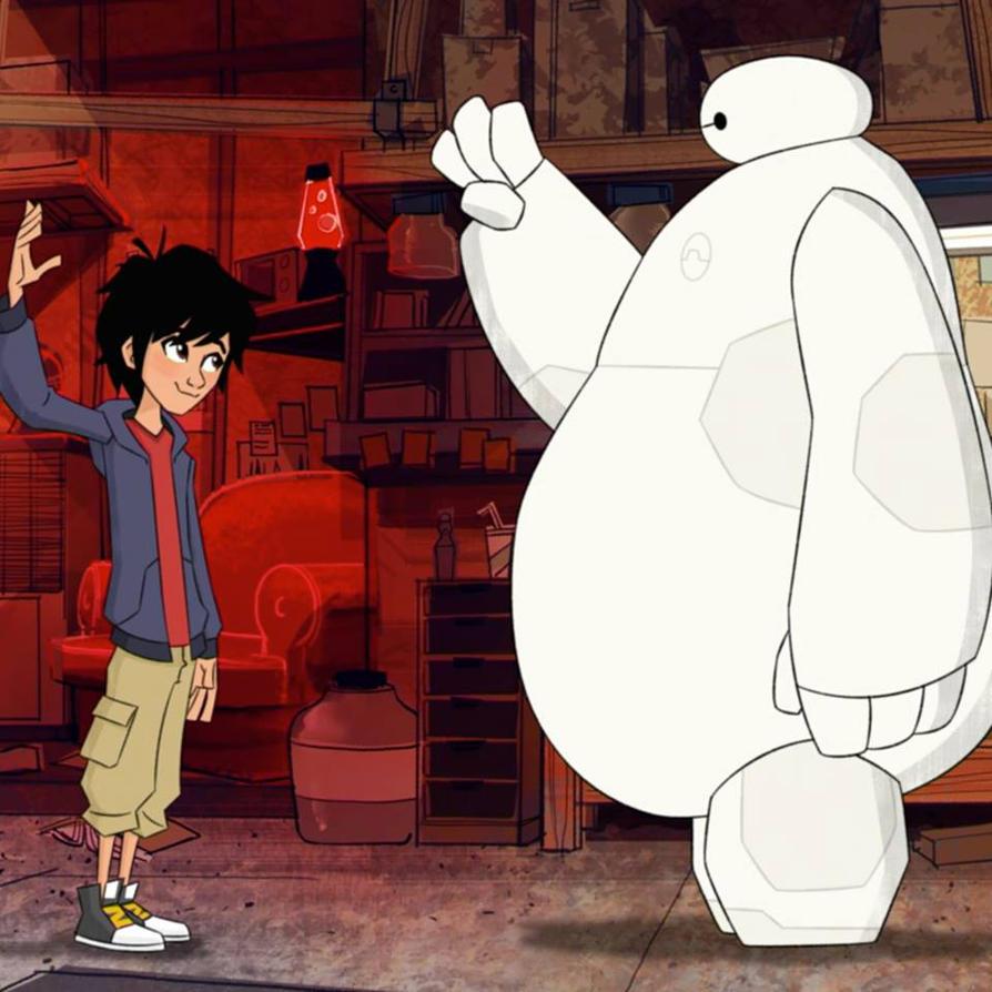 Hiro and Baymax~ Big Hero 6 The Series by Queenofnightwish