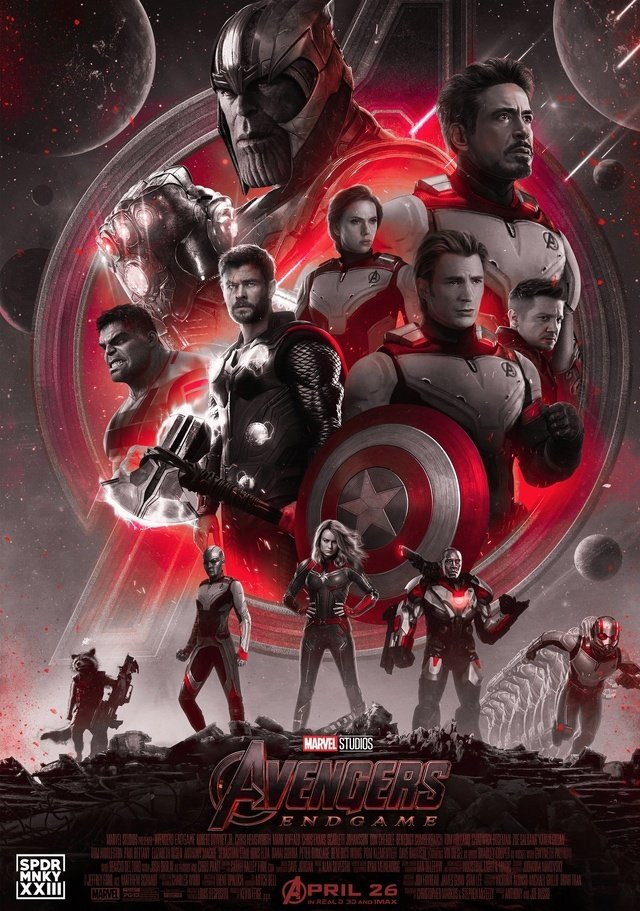 Avengers Endgame Official Poster By Guardianofthesnow On Deviantart