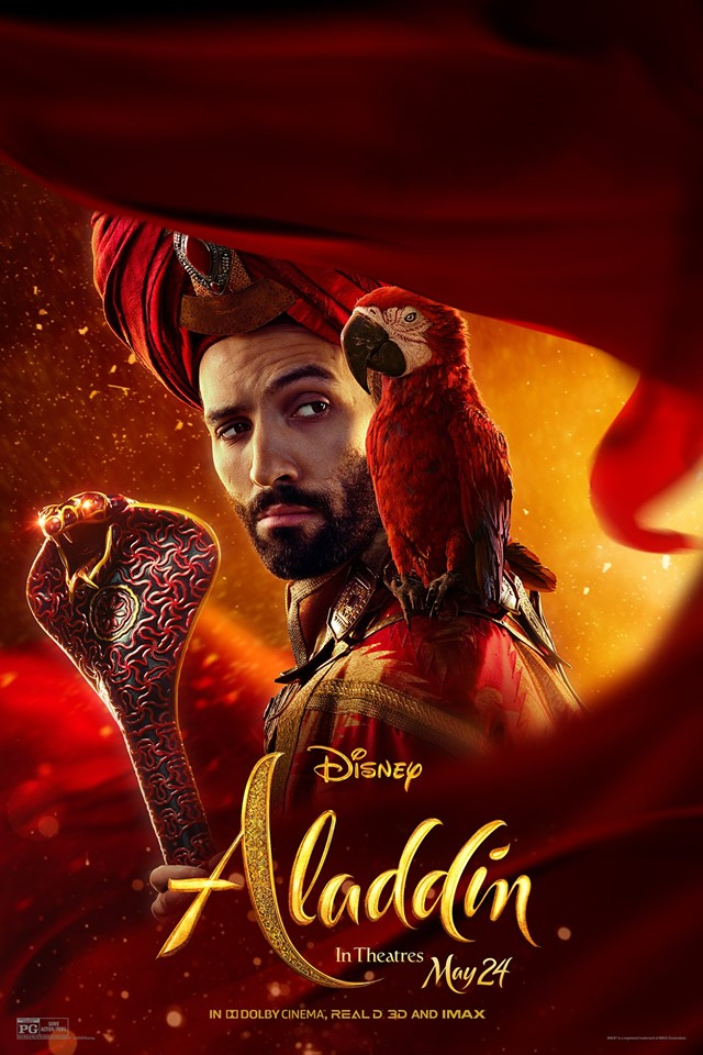 Aladdin 2019 official character poster by guardianofthesnow on deviantart - Aladdin 2019 poster ...