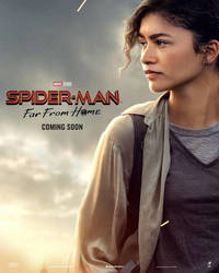 Spider-Man Far From Home Character Poster Official by GuardianoftheSnow