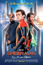 Spider-Man Far From Home Official Poster by GuardianoftheSnow
