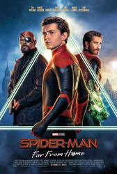 Spider-Man Far From Home Poster Official by GuardianoftheSnow