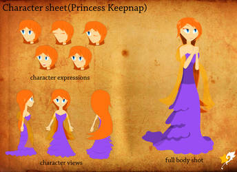 full body concept (Princess Keepnap) by Chr0nicler