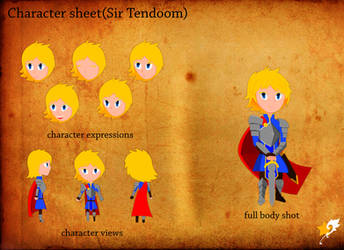 full body concept (sir Tendoom) by Chr0nicler