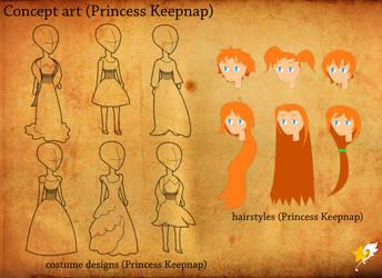 Princess Keepnap concept art 1 by Chr0nicler