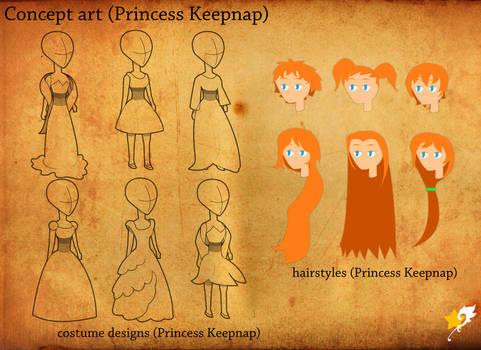 Princess Keepnap concept art 1