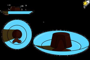 The Coco Set: Chocolate Molten Cakes