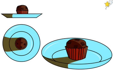 The Coco Set: Chocolate Muffin