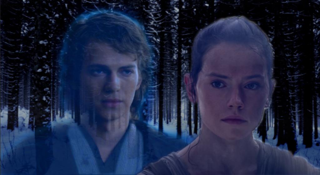 Anakin Skywalker And Rey, The Chosen Ones by JJ-Squiz