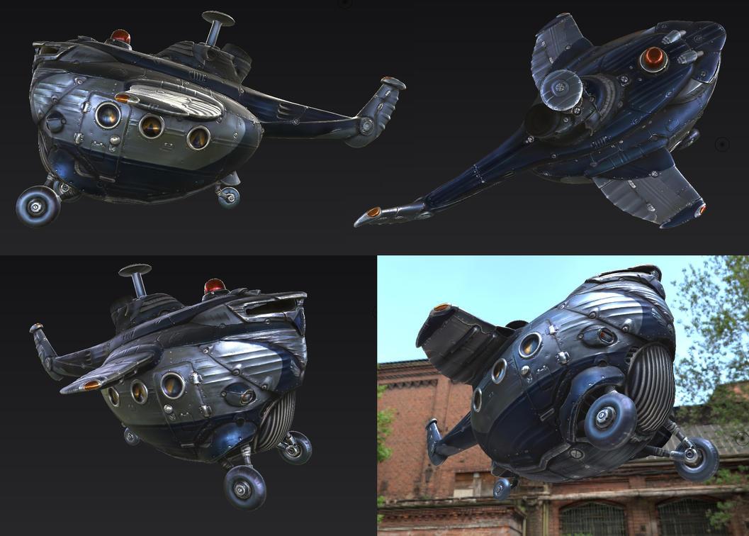 chopper wip5 by sittingducky
