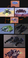 laser bomber concepts