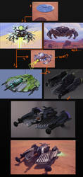 laser bomber concepts by sittingducky