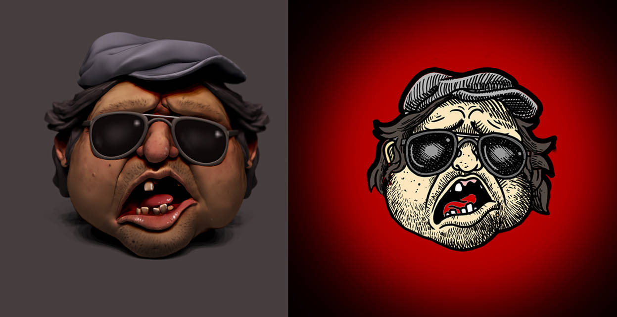 Mr. Plinkett fan art by sittingducky