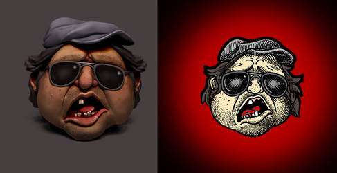 Mr. Plinkett fan art