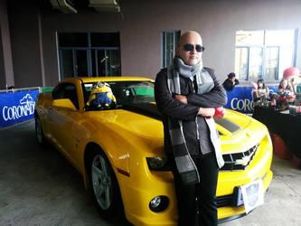 a great villain needs a great car :D