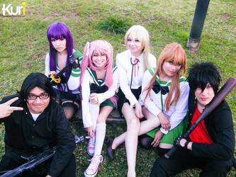 High School of the Dead group