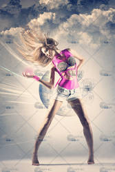 Professional Modern Dancer VI by GraphicCo