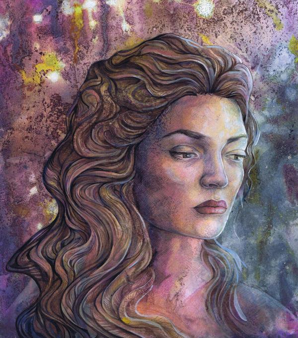 Lorde Painting by dawndelver