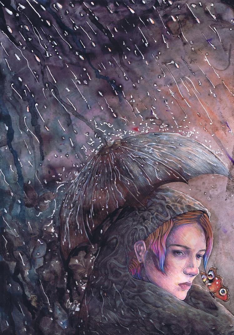 The Night Rain by dawndelver